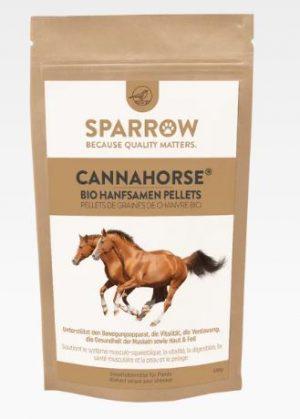 Abbildung: Sparrow CannaHorse® Bio Hanfsamen Pellets