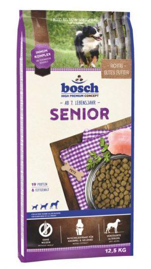 Abbildung: Sack Bosch Senior Hundetrockenfutter