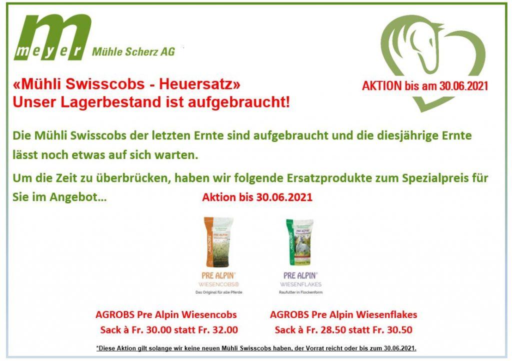Aktion AGROBS Pre Alpin Wiesencobs & Wiesenflakes