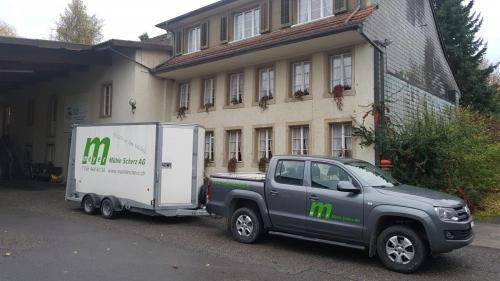 Liefertour Mühle Scherz AG