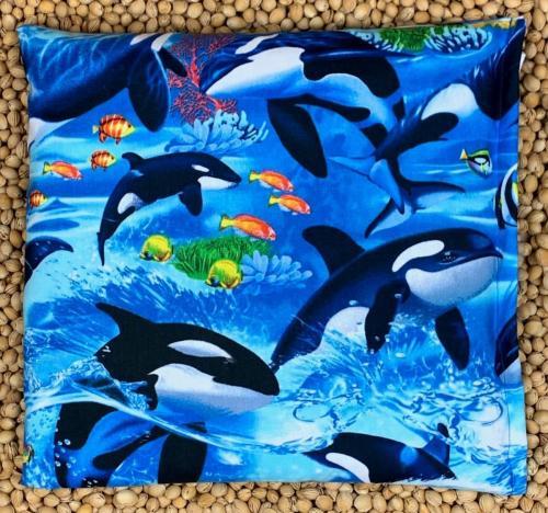 Kirschensteinkissen Orcas