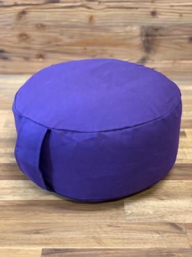 Yoga Kissen violett